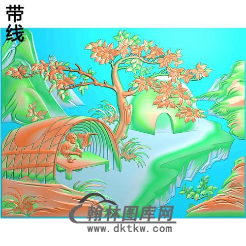 X-014-24孝图精雕图(ESSX-014)