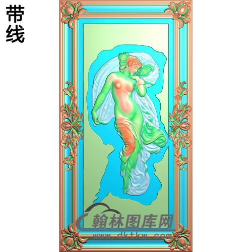 人物033_AUTOSAVE精雕图(XF-061)