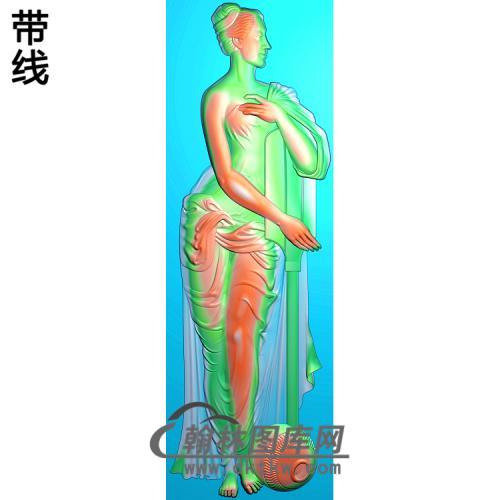 人物039_AUTOSAVE精雕图(XF-063)