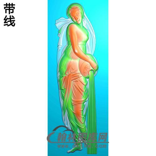 人物050_AUTOSAVE精雕图(XF-064)
