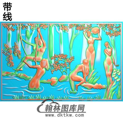 人物053_AUTOSAVE精雕图(XF-066)