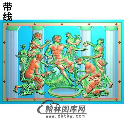 人物058_AUTOSAVE精雕图(XF-068)