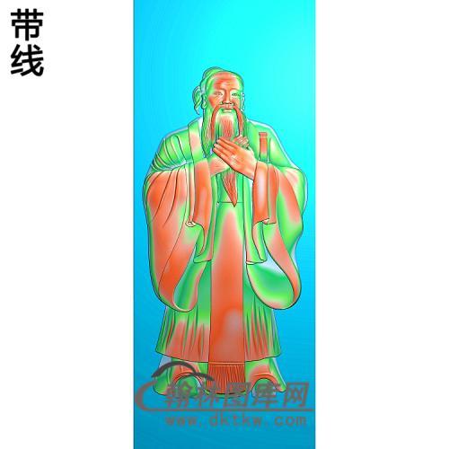 孔子总A精雕图(GD-387)