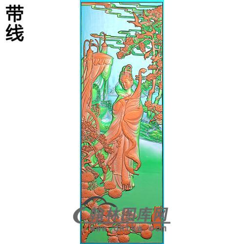 昭君精雕图(GD-439)