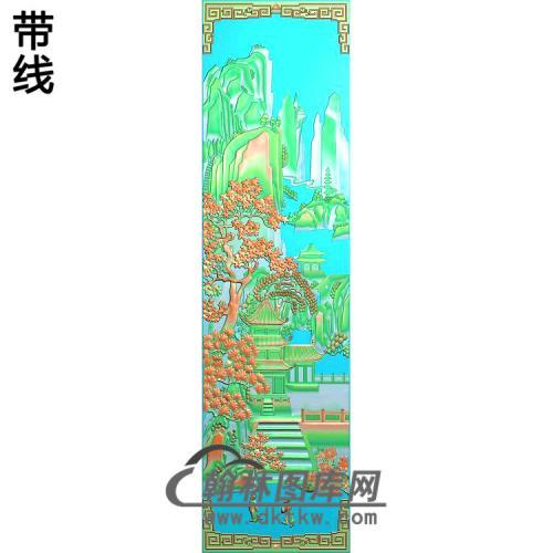 锦香风景色2精雕图(SSFJ-202)