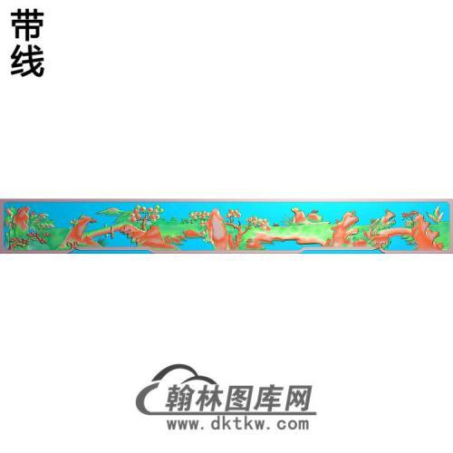 渔樵耕读底板精雕图(SSFJ-212)