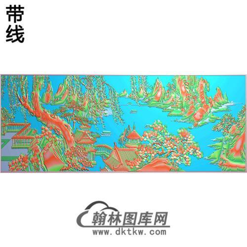 SS-029-山水系列精雕图(SSJZ-041)