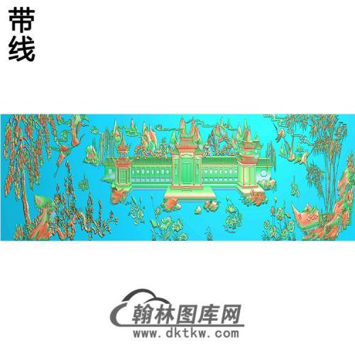 SS-32-山水系列精雕图(SSJZ-044)