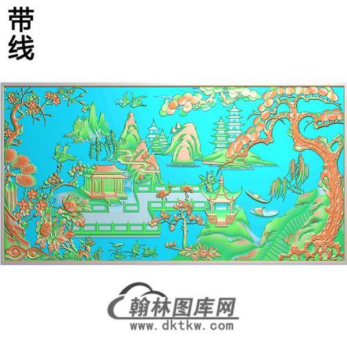 SS-040-山水系列精雕图(SSJZ-048)