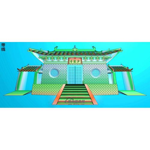 SSJZ-290少林寺精雕图(SSJZ-093)