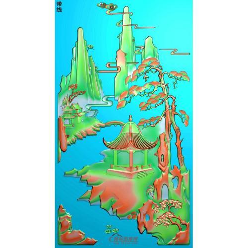 山水040_AUTOSAVE精雕图(SSJZ-205)