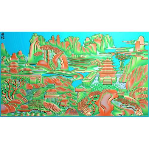 山水067_AUTOSAVE精雕图(SSJZ-214)