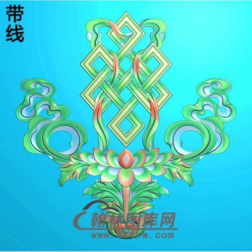 八宝中国结精雕图
