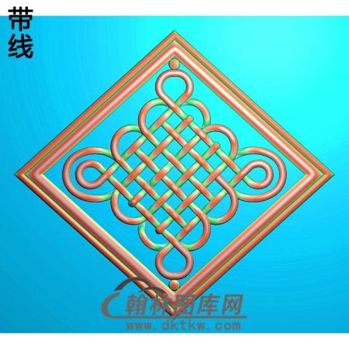 中国结410x455精雕图