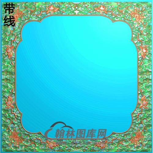 ZSJH-791-顶西潘莲3卷书角44拼合精雕图(ZSBK-024)