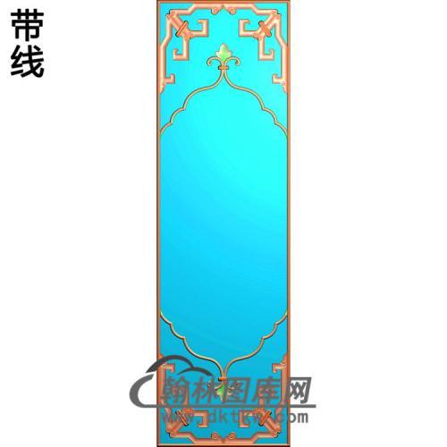 博古边框精雕图(ZSBK-030)