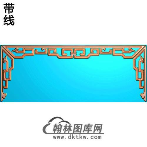 草龙三边精雕图(ZSBK-032)