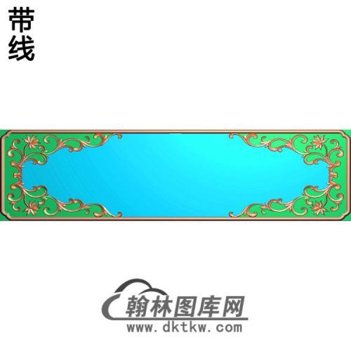 抽屉边框精雕图(ZSBK-033)