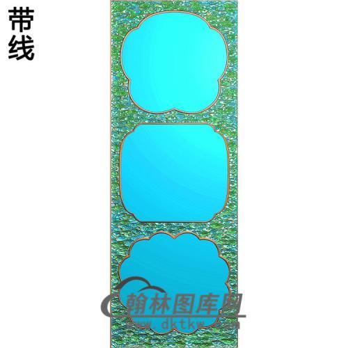 大门云框精雕图(ZSBK-035)