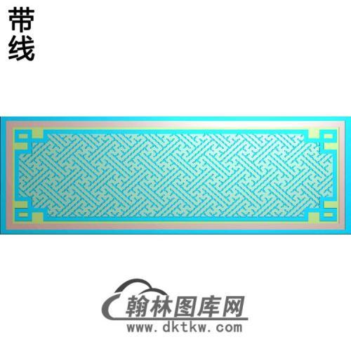 强征龙凤边框精雕图(ZSBK-052)