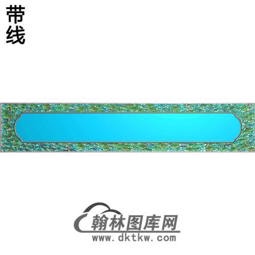 云方边框精雕图(ZSBK-061)