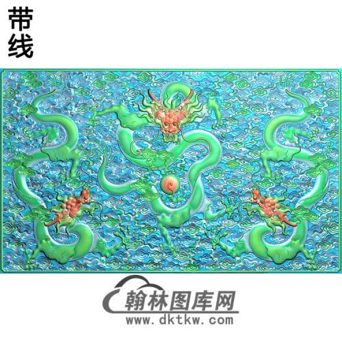 L-019-3龙精雕图(SL-003)