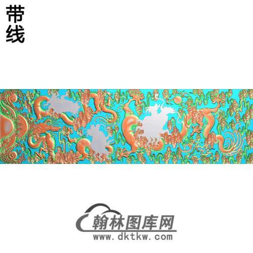 L-5002-九龙柜精雕图(SL-013)