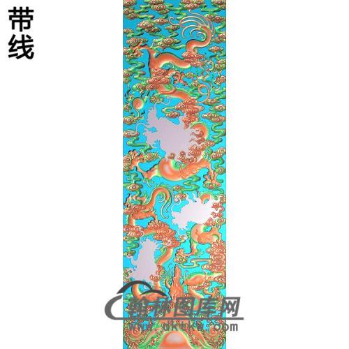 L-5019-九龙柜精雕图(SL-015)