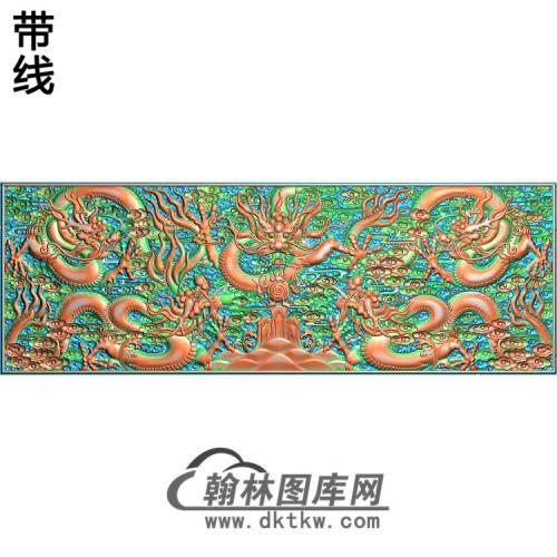 CLCF-004-龙精雕图(WL-001)