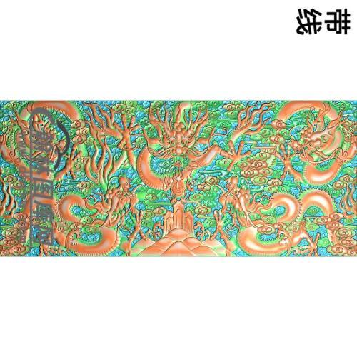 L-021-5龙精雕图(WL-006)