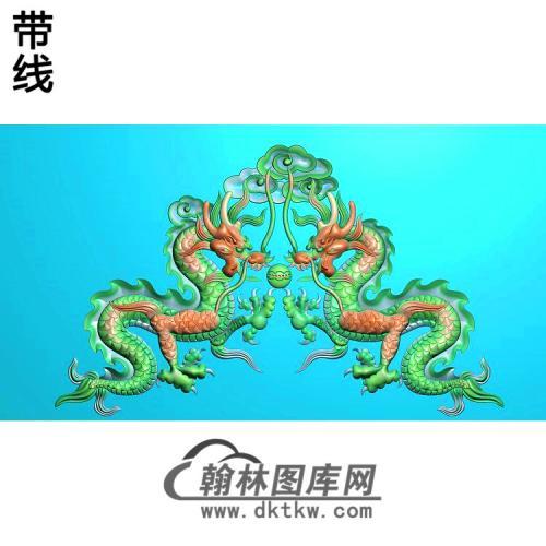 龙(2)精雕图(SL-112)