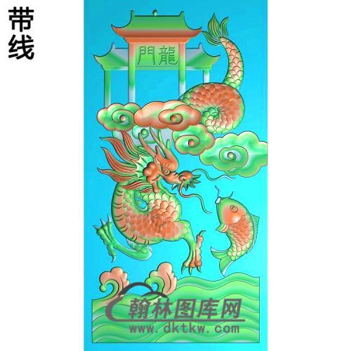 DW-085-动物系列龙精雕图(DL-008)