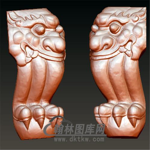 椅子腿20100620立体圆雕图(YHT-005)