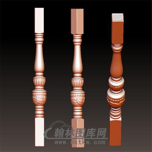 桌腿5—雕花(规则3轴)(YLT-016)
