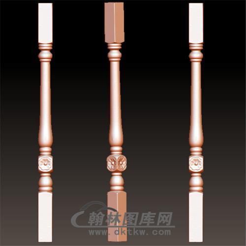 桌腿7—雕花(规则3轴)(YLT-018)