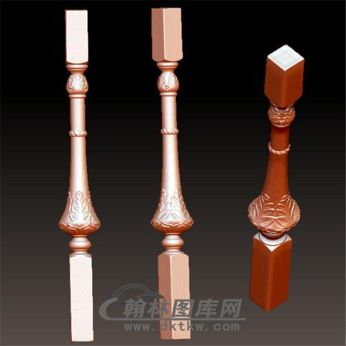 桌腿8—雕花(规则3轴)立体圆雕图(YLT-019)