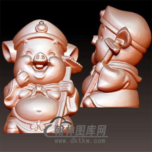 猪八戒立体圆雕图(YGD-002)