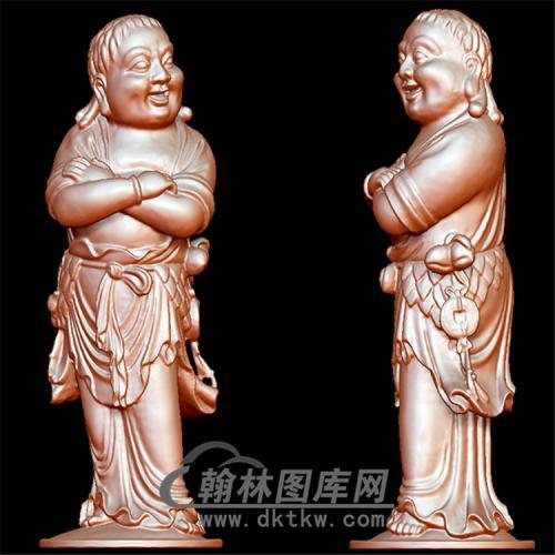 刘海立体圆雕图(YGD-006)