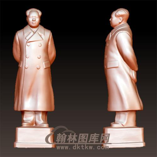 毛泽东立体圆雕图(YXD-002)