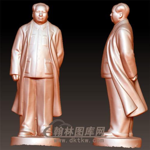 毛泽东立体圆雕图(YXD-003)