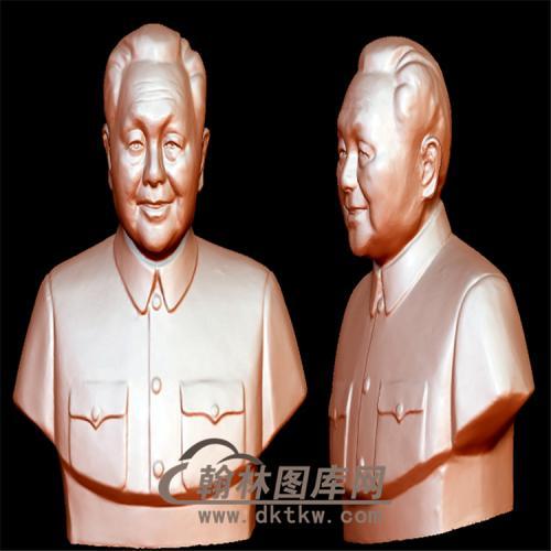 邓小平立体圆雕图(YXD-007)