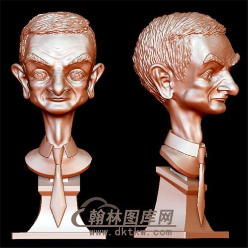 憨豆先生立体圆雕图(YXD-011)