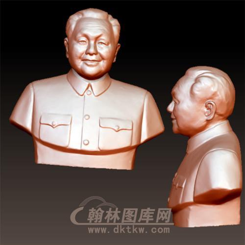 邓小平立体圆雕图(YXD-012)