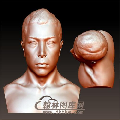 甄子丹立体圆雕图(YXD-013)