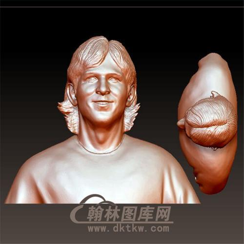 球王梅西立体圆雕图(YXD-018)