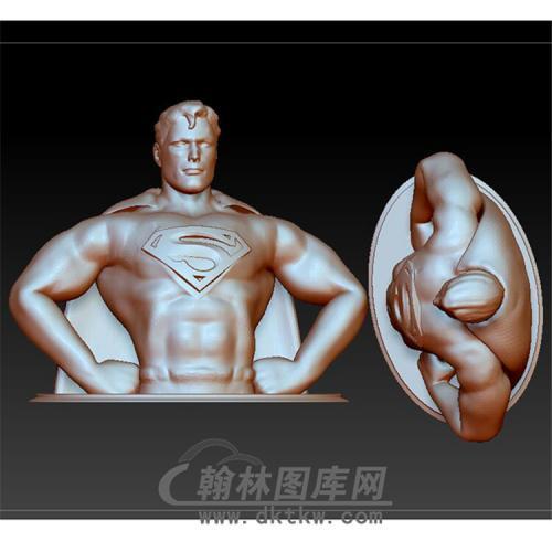 美国队长超人半身像(YXD-019)