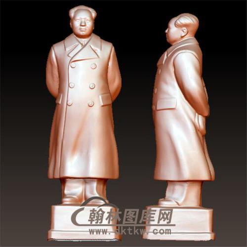毛主席毛泽东立体圆雕图(YXD-030)