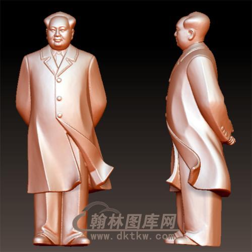 站式毛主席立体圆雕图(YXD-065)