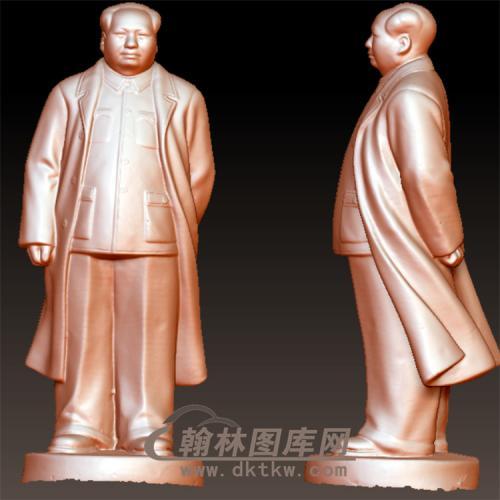 毛泽东毛主席立体圆雕图(YXD-067)