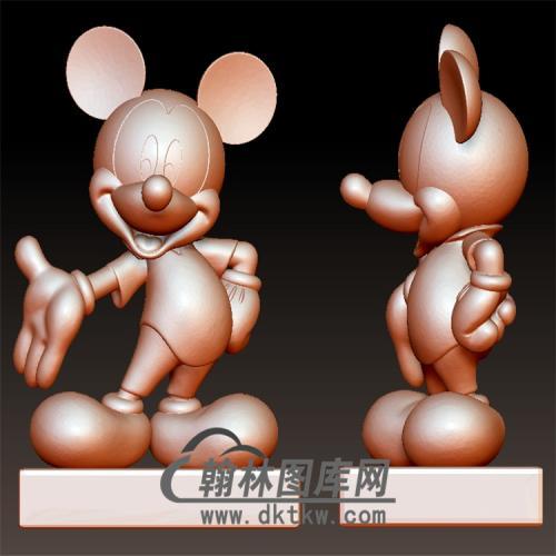 米老鼠立体圆雕图(YKT-3)